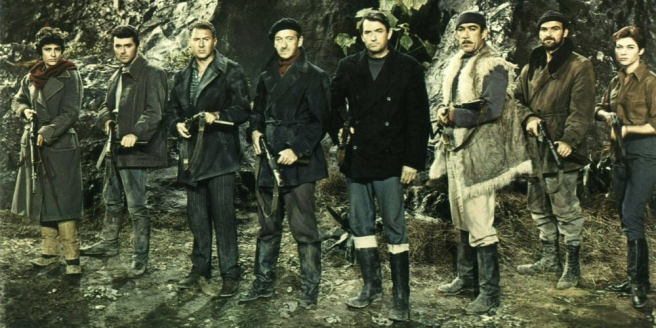 The Guns of Navarone Cast