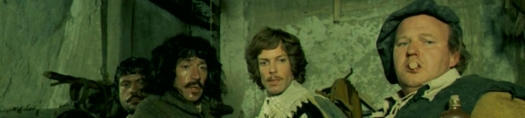The Four Musketeers Cast Banner