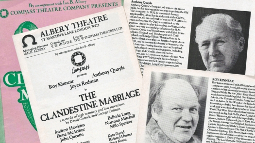 Anthony Quayle & Roy Kinnear, The Clandestine Marriage (1986)