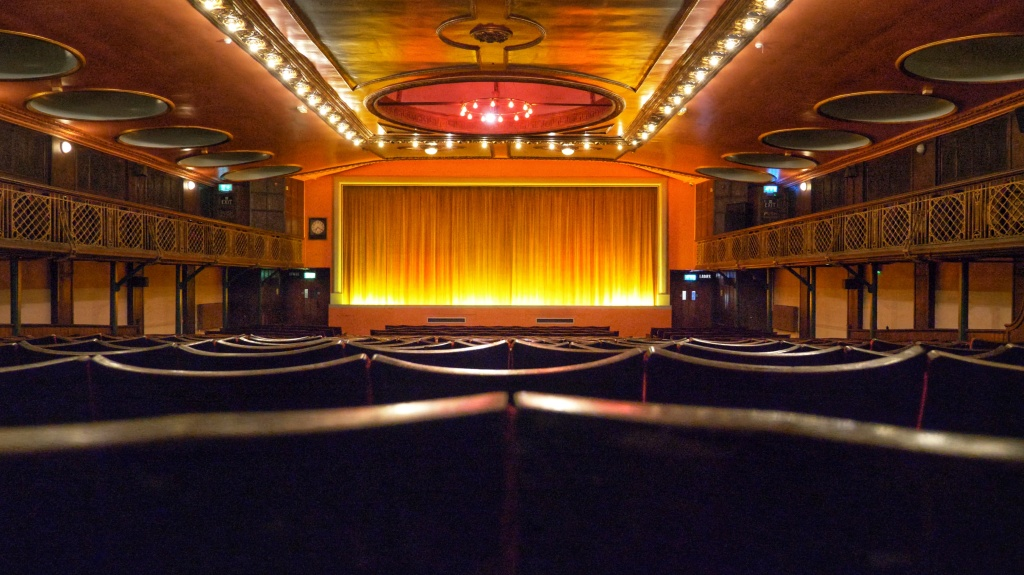 We've been filming behind-the-scenes at the historic Dome Cinema