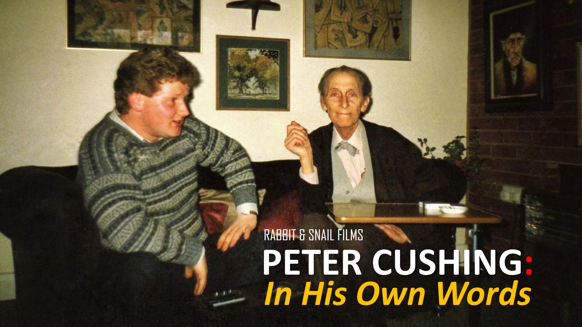 PHOTO 1 - Peter Cushing In His Own Words